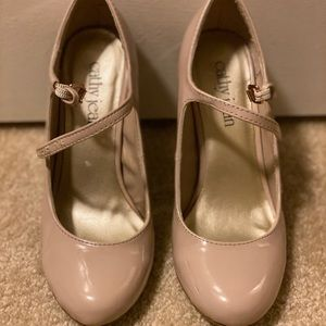 Cathy Jean - Nude - Mary Jane heels